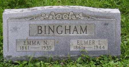 HIGLEY BINGHAM, EMMA N. - Meigs County, Ohio | EMMA N. HIGLEY BINGHAM - Ohio Gravestone Photos