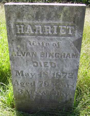 HIGLEY BINGHAM, HARRIET - Meigs County, Ohio | HARRIET HIGLEY BINGHAM - Ohio Gravestone Photos