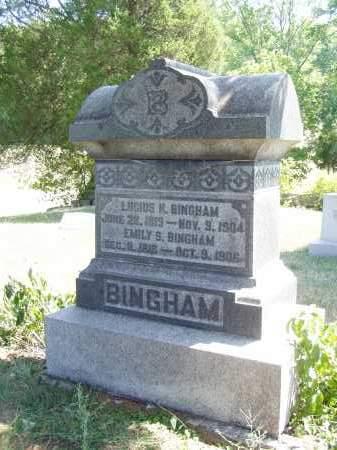 BINGHAM, EMILY S. - Meigs County, Ohio | EMILY S. BINGHAM - Ohio Gravestone Photos