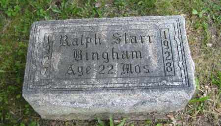 BINGHAM, RALPH STARR - Meigs County, Ohio | RALPH STARR BINGHAM - Ohio Gravestone Photos