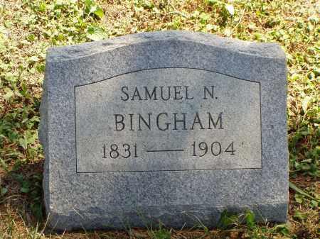 BINGHAM, SAMUEL N. - Meigs County, Ohio | SAMUEL N. BINGHAM - Ohio Gravestone Photos