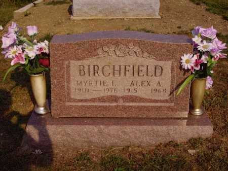 BIRCHFIELD, ALEX A. - Meigs County, Ohio | ALEX A. BIRCHFIELD - Ohio Gravestone Photos