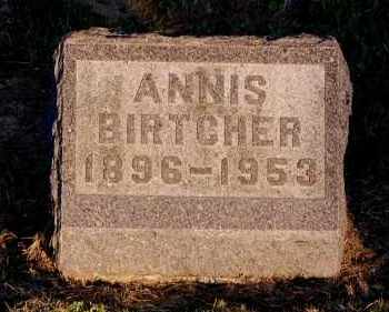 CLOUSTON BIRTCHER, ANNIS - Meigs County, Ohio | ANNIS CLOUSTON BIRTCHER - Ohio Gravestone Photos