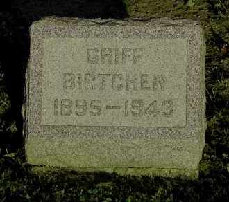 BIRTCHER, GRIFF - Meigs County, Ohio | GRIFF BIRTCHER - Ohio Gravestone Photos