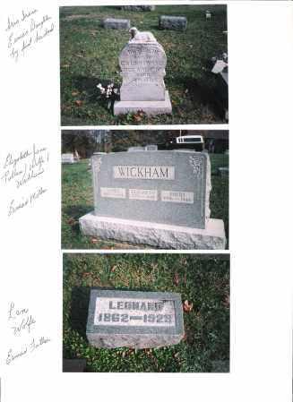 WOLFE, LEONARD - Meigs County, Ohio | LEONARD WOLFE - Ohio Gravestone Photos