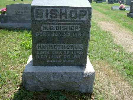 BISHOP, HARRIET - Meigs County, Ohio | HARRIET BISHOP - Ohio Gravestone Photos