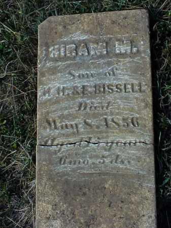 BISSELL, HIRAM M. - Meigs County, Ohio | HIRAM M. BISSELL - Ohio Gravestone Photos