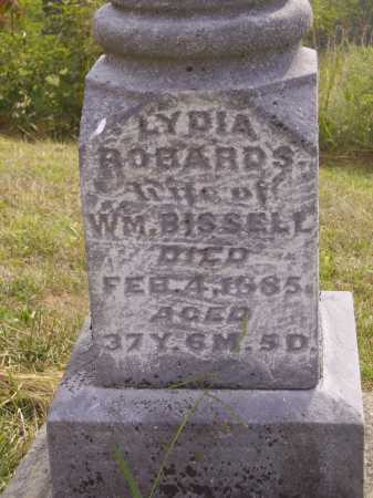 ROBARDS BISSELL, LYDIA - CLOSEVIEW - Meigs County, Ohio | LYDIA - CLOSEVIEW ROBARDS BISSELL - Ohio Gravestone Photos