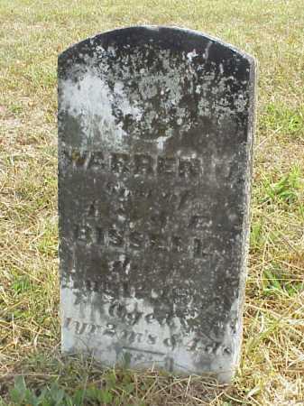 BISSELL, WARREN U. - Meigs County, Ohio   WARREN U. BISSELL - Ohio Gravestone Photos