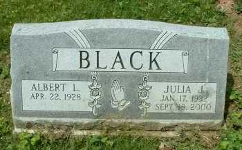 BLACK, JULIA J. - Meigs County, Ohio | JULIA J. BLACK - Ohio Gravestone Photos