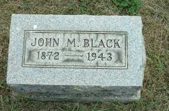 BLACK, JOHN M. - Meigs County, Ohio | JOHN M. BLACK - Ohio Gravestone Photos
