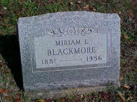 BLACKMORE, MIRIAM L. - Meigs County, Ohio | MIRIAM L. BLACKMORE - Ohio Gravestone Photos