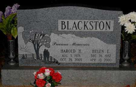 BLACKSTON, HAROLD H. - Meigs County, Ohio | HAROLD H. BLACKSTON - Ohio Gravestone Photos