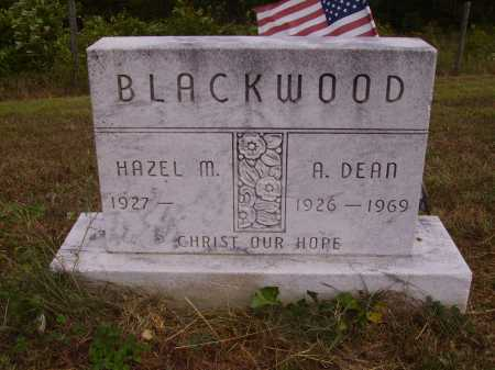 BLACKWOOD, A. DEAN - Meigs County, Ohio | A. DEAN BLACKWOOD - Ohio Gravestone Photos