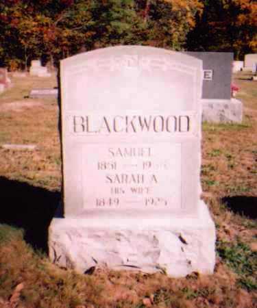 BLACKWOOD, SARAH A - Meigs County, Ohio | SARAH A BLACKWOOD - Ohio Gravestone Photos