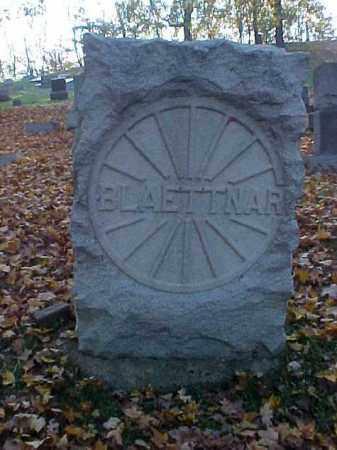 BLAETTNAR, MONUMENT - Meigs County, Ohio | MONUMENT BLAETTNAR - Ohio Gravestone Photos