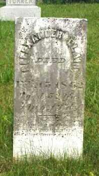 BLAIR, ALEXANDER M. - Meigs County, Ohio   ALEXANDER M. BLAIR - Ohio Gravestone Photos