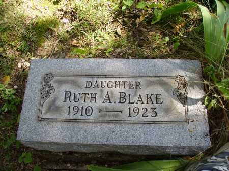 BLAKE, RUTH A. - Meigs County, Ohio | RUTH A. BLAKE - Ohio Gravestone Photos