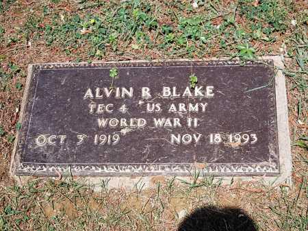 BLAKE, ALVIN R. - Meigs County, Ohio | ALVIN R. BLAKE - Ohio Gravestone Photos