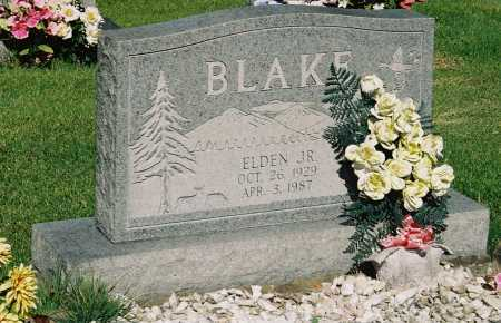 BLAKE, ELDEN JR. - Meigs County, Ohio | ELDEN JR. BLAKE - Ohio Gravestone Photos
