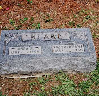 BLAKE, NORA B. - Meigs County, Ohio | NORA B. BLAKE - Ohio Gravestone Photos