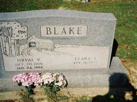 BLAKE, ORVAL V. - Meigs County, Ohio | ORVAL V. BLAKE - Ohio Gravestone Photos