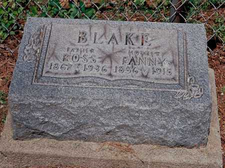 BLAKE, FANNY - Meigs County, Ohio | FANNY BLAKE - Ohio Gravestone Photos