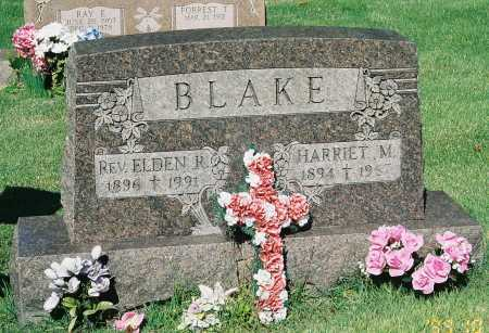 BLAKE, REV. ELDEN R. - Meigs County, Ohio | REV. ELDEN R. BLAKE - Ohio Gravestone Photos