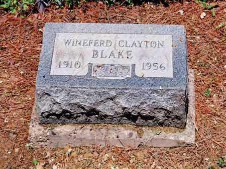 BLAKE, WINEFERD CLAYTON - Meigs County, Ohio | WINEFERD CLAYTON BLAKE - Ohio Gravestone Photos