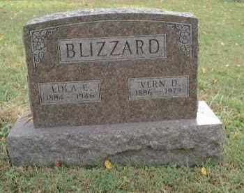 BLIZZARD, LOLA EDITH - Meigs County, Ohio | LOLA EDITH BLIZZARD - Ohio Gravestone Photos