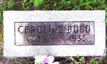 BOBO, CAROLINE - Meigs County, Ohio | CAROLINE BOBO - Ohio Gravestone Photos