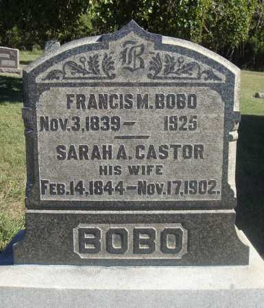 BOBO, FRANCIS MARION - Meigs County, Ohio | FRANCIS MARION BOBO - Ohio Gravestone Photos