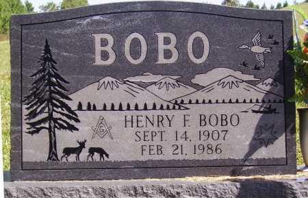 BOBO, HENRY F. [FRANCIS] - Meigs County, Ohio | HENRY F. [FRANCIS] BOBO - Ohio Gravestone Photos