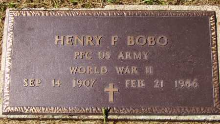 BOBO, HENRY F. - Meigs County, Ohio | HENRY F. BOBO - Ohio Gravestone Photos