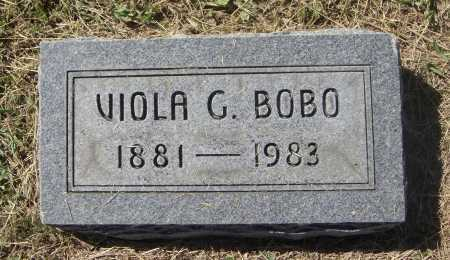 BOBO, VIOLA G. - Meigs County, Ohio | VIOLA G. BOBO - Ohio Gravestone Photos