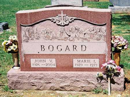 BOGARD, MARIE I. - Meigs County, Ohio | MARIE I. BOGARD - Ohio Gravestone Photos