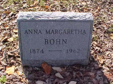 BOHN, ANNA MARGARETHA - Meigs County, Ohio | ANNA MARGARETHA BOHN - Ohio Gravestone Photos
