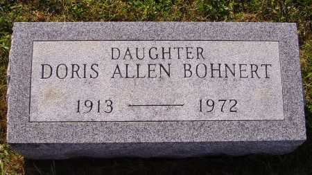 ALLEN BOHNERT, DORIS - Meigs County, Ohio | DORIS ALLEN BOHNERT - Ohio Gravestone Photos