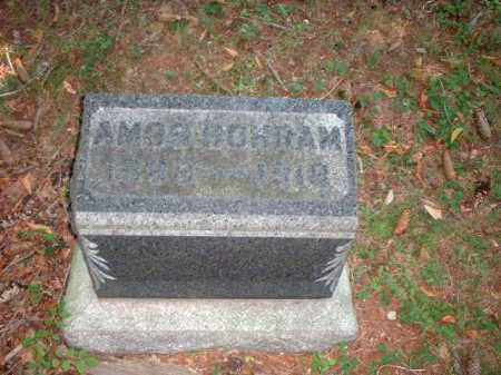 BOHRAM, AMOS - Meigs County, Ohio | AMOS BOHRAM - Ohio Gravestone Photos