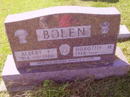 BOLEN, ALBERT F. - Meigs County, Ohio | ALBERT F. BOLEN - Ohio Gravestone Photos