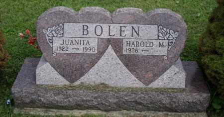 SCHOONOVER BOLEN, JUANITA - Meigs County, Ohio | JUANITA SCHOONOVER BOLEN - Ohio Gravestone Photos