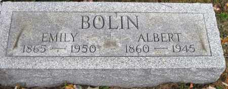 BOLIN, EMILY - Meigs County, Ohio | EMILY BOLIN - Ohio Gravestone Photos