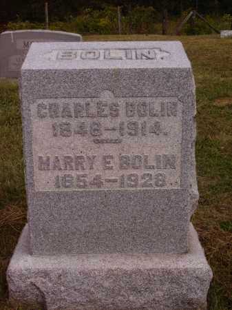 BOLIN, MARRY E. - Meigs County, Ohio | MARRY E. BOLIN - Ohio Gravestone Photos