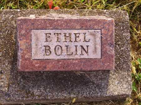 BOLIN, ETHEL - Meigs County, Ohio | ETHEL BOLIN - Ohio Gravestone Photos