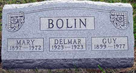 BOLIN, DELMAR - Meigs County, Ohio | DELMAR BOLIN - Ohio Gravestone Photos