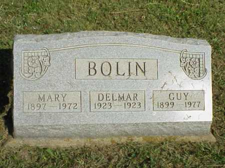 BOLIN, MARY - Meigs County, Ohio | MARY BOLIN - Ohio Gravestone Photos