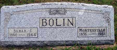 REEVES BOLIN, SARAH JANE - Meigs County, Ohio | SARAH JANE REEVES BOLIN - Ohio Gravestone Photos