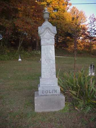 BOLIN MONUMENT, SARAH - Meigs County, Ohio | SARAH BOLIN MONUMENT - Ohio Gravestone Photos