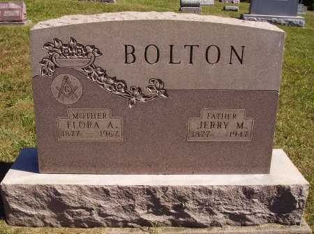 GRAHAM BOLTON, FLORA A. - Meigs County, Ohio | FLORA A. GRAHAM BOLTON - Ohio Gravestone Photos