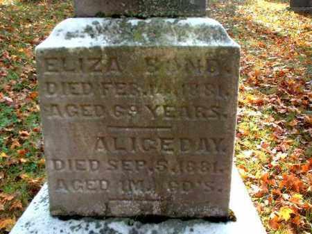 DAY, ALICE - Meigs County, Ohio | ALICE DAY - Ohio Gravestone Photos